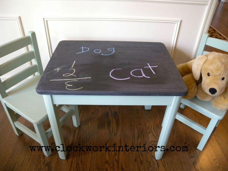 25 Best Ideas About Chalkboard Table On Pinterest Diy