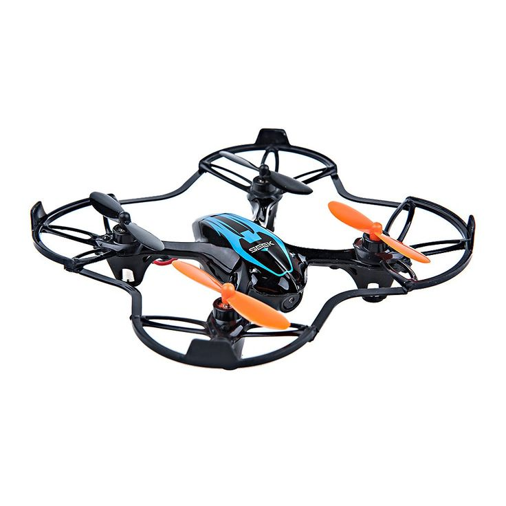 Mini RC Remote Camera Quadcopter 2.4GHz 4CH 6 Axis - Black