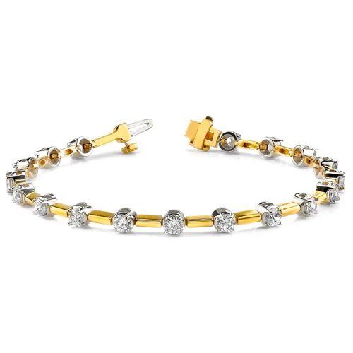 Ein Brillant- Tennis- Armband vom Juwelierhaus Abt in Dortmund. Gefertigt ist dieses Brillantarmband aus 750er Gold und 2.00 Karat Lupenreinen Brillanten in der Farbe D (Hochfeines Weiß+).  http://www.juwelierhausabt.de/products/de/Diamantarmbaender/200-Karat-Brillantarmband-in-585er-750er-BI-Color-Gold3.html  #diamantarmband #diamonds #diamante #diamanten #gold #schmuck #diamantschmuck #juwelier #abt #dortmund