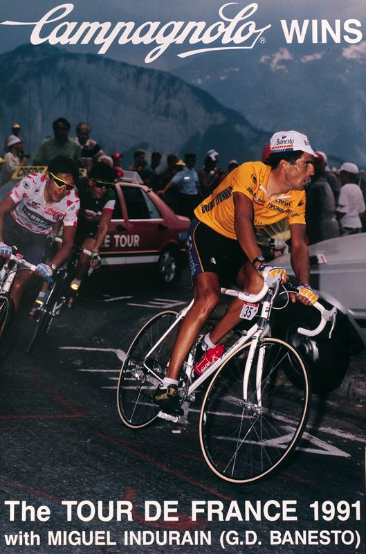 Campagnolo Wins the Tour de France 1991 by Artist Unknown