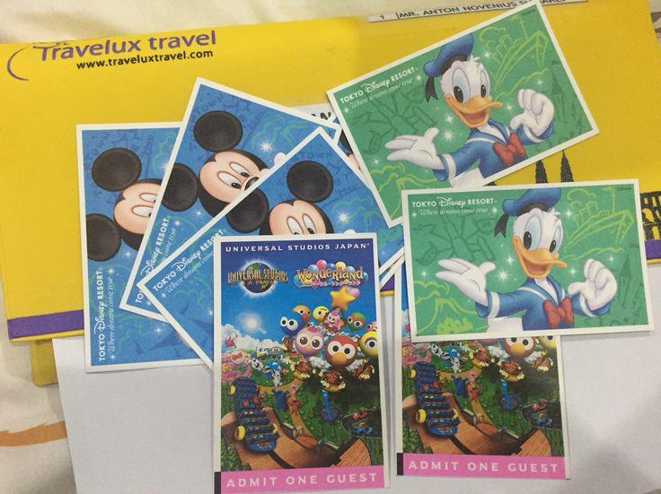 Disneyland Ticket + Universal Studio Japan