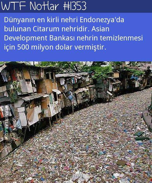 Dünyanın en kirli nehri, Citarum 1