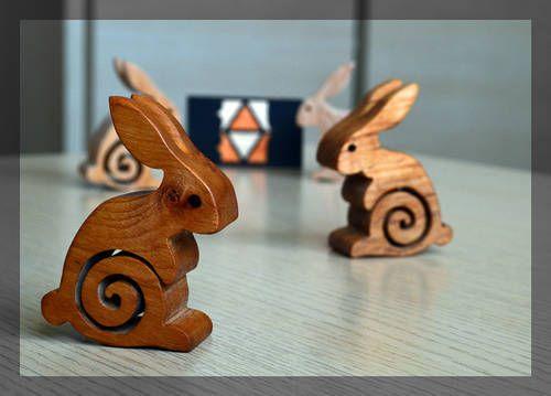 Drewniany królik | digart | digart.pl