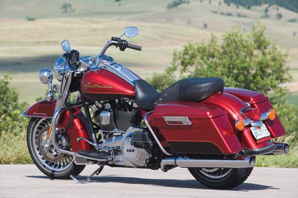 2012 Harley-Davidson FLHR Road King   Harley Baggers Motorcycle ...