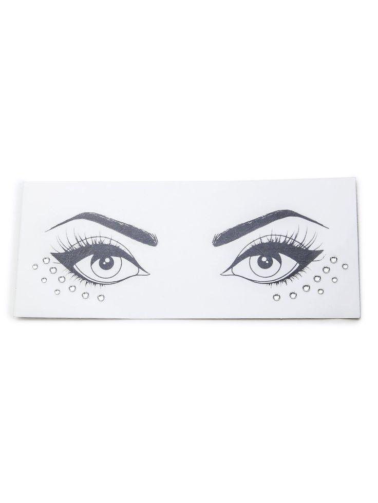 Acrylic Crystals Eye Stickers