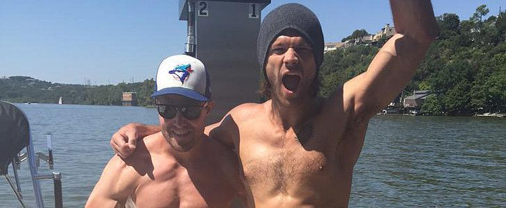Brace Yourself: Jared Padalecki and Stephen Amell Are Shirtless . . . Together