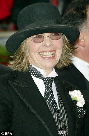 If it ain't broke. . . How Diane Keaton's androgynous Annie Hall look is STILL her go-to 36 years on | Mail Online