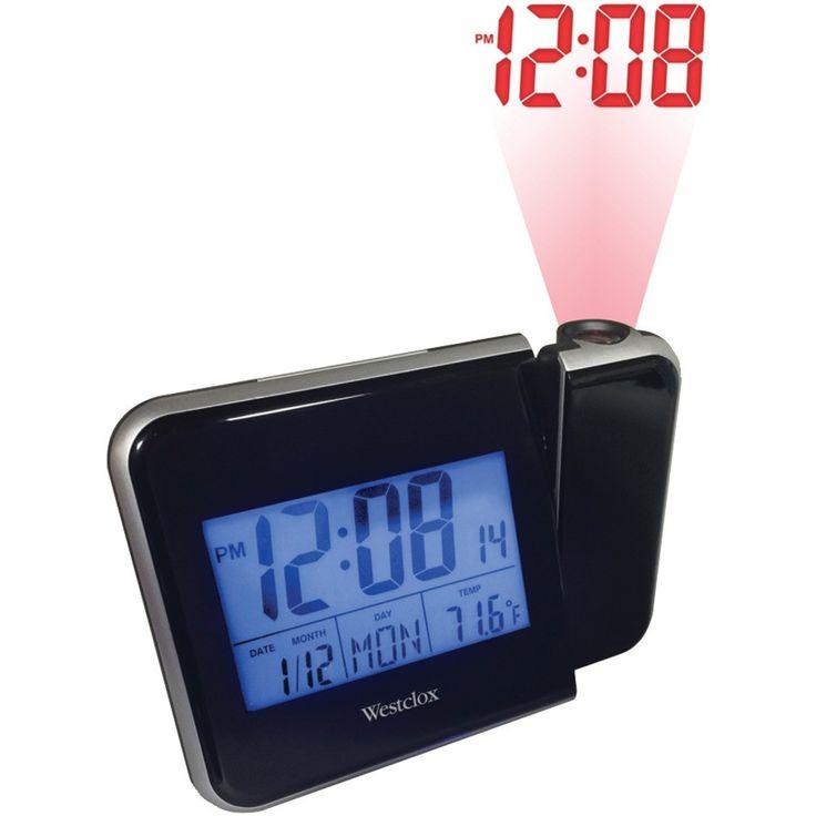 WESTCLOX 72027 Digital LCD Projection Clock