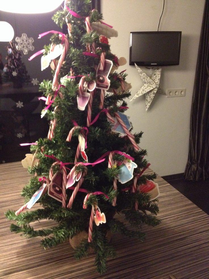 Traktatie voor kinderen die rond kerst jarig zijn.