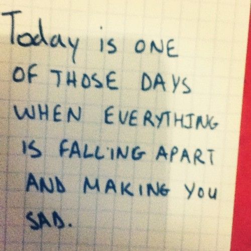 Falling Apart Inspirational Quotes: Everything Is Falling Apart Quotes. QuotesGram
