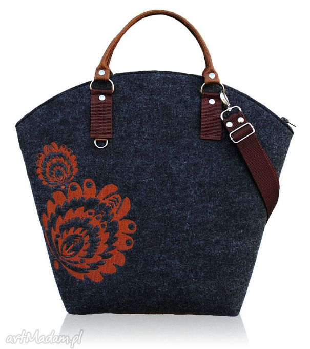Hobo łowiczanie mazurach szukają jesieni;- kasztan torebki bags