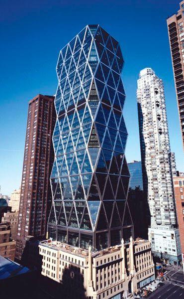 Popular Mechanics: Hearst Tower - Re-inventing The Skyscraper