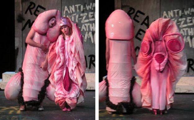Bilderesultat for funny couples dressed alike