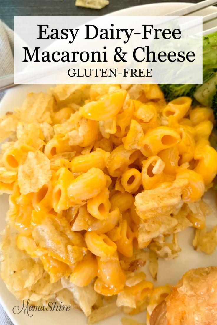 Easy Dairy Free Macaroni Cheese Gluten Free Recipe
