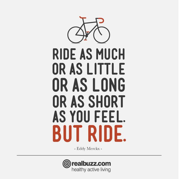 Motivational cycling quote