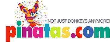 Pinatas.com features custom pinata, personalized pinatas, standard pinatas, party supply, themed party supplies