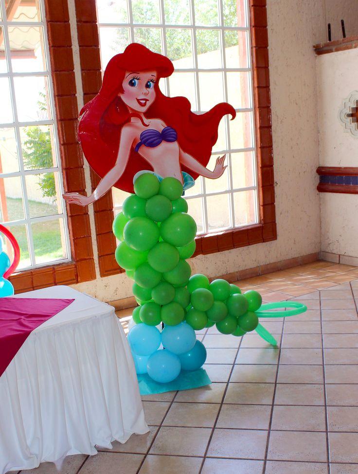 87 best little mermaid images on pinterest - Decoracion fiestas vintage ...