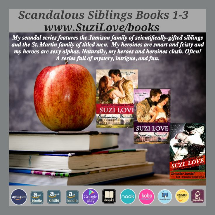 Scandalous Siblings Series Books 1-3