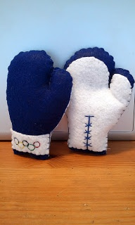 Olympic Boxing Gloves Plush Tutorial
