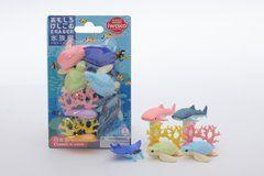 Iwako Sea Animals - Blister Pack