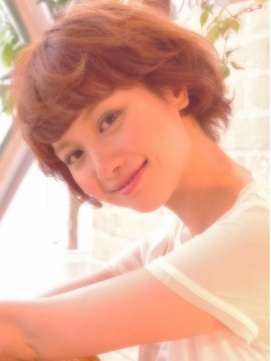 #shorthair #hairstyle #japanese #perm