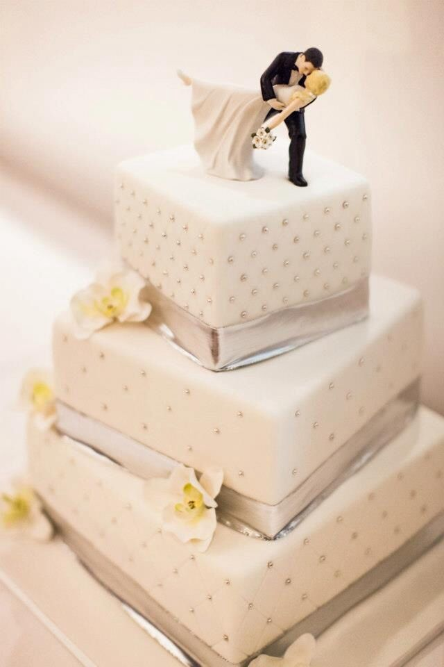 Deco Wedding Cake Porte Nom Sur Le Gateau