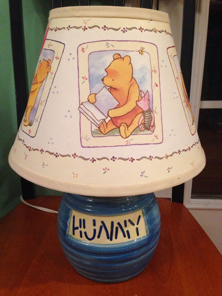 Vintage Disney Quot Winnie The Pooh Quot Baby Blue Hunny Pot Pooh