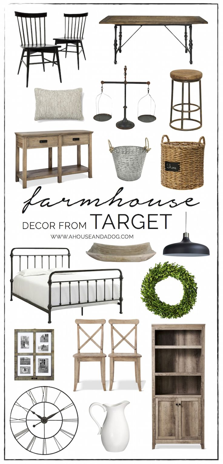 Farmhouse Decor At Target A House And A Dog Feels Like Home Pinterest Kitchen Tables A