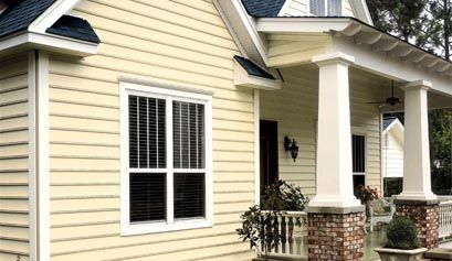Carolina Beaded Vinyl Siding Collection Horizontal