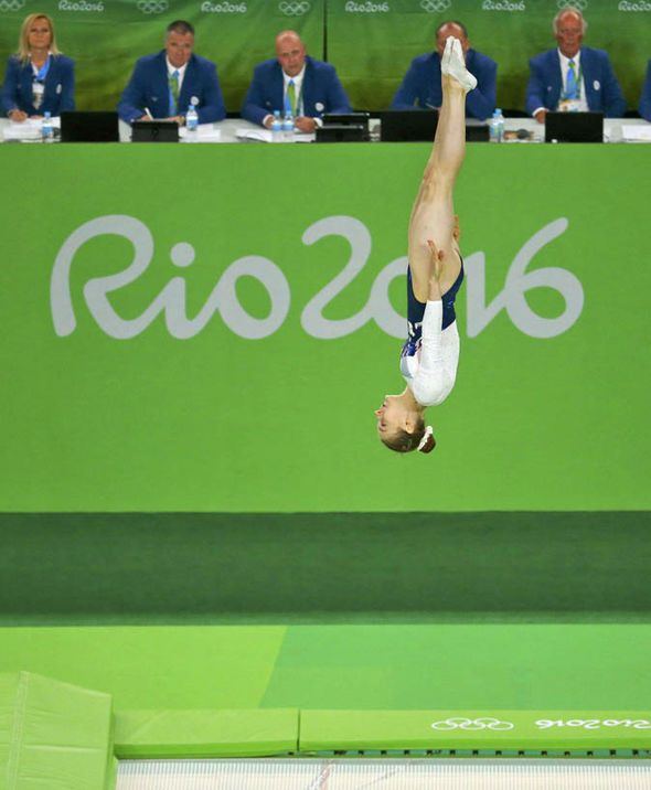 Rio 2016: Bryony Page wins trampolining silver for Team GB