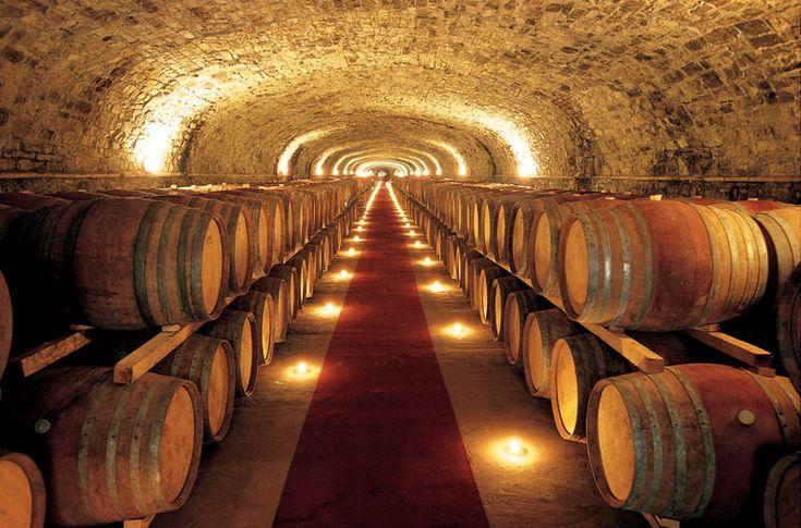 Castello di Monsanto, una cantina di oltre duecento metri scavata a mano da tre uomini (a wine cellar - overt two hundred feet - dug by hand by three old men in the 1950's)