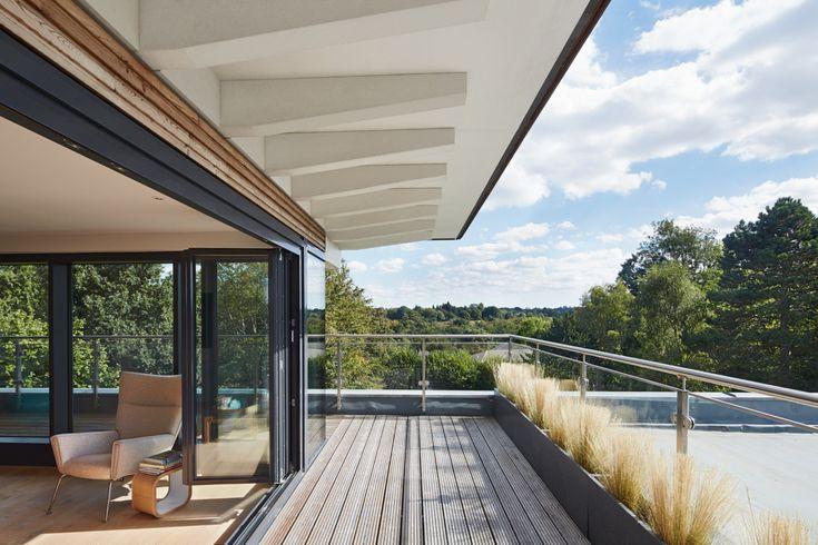 7 best Terrasse images on Pinterest Building homes, Decks and Arbors - terrassen gelander design