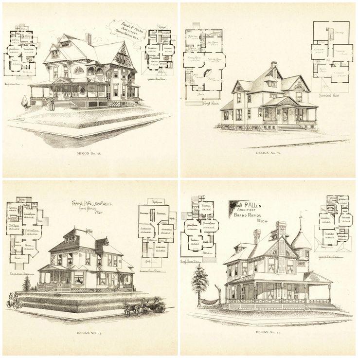 79 best VinTagE HOUSE PlanS~1800s images on Pinterest Coloring - fresh blueprint diazo paper