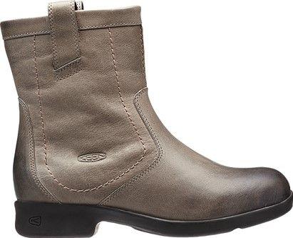 short brown boots!