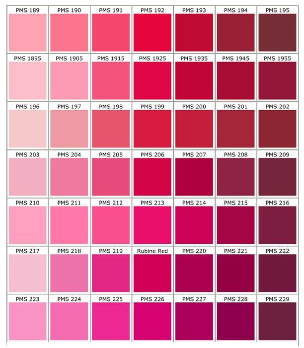 ecru color chart