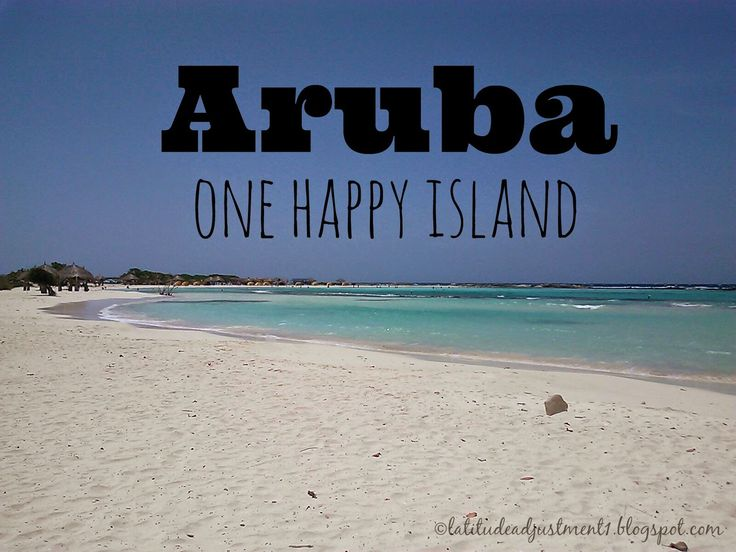 Latitude Adjustment: Aruba (part 1)