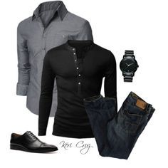A fashion look from March 2014 featuring American Eagle Outfitters jeans, Mercanti Fiorentini oxfords and Movado watches. Browse and shop related looks.