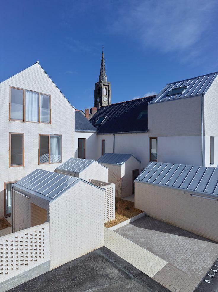 25 best Habitat groupé images on Pinterest Architects, Nantes and