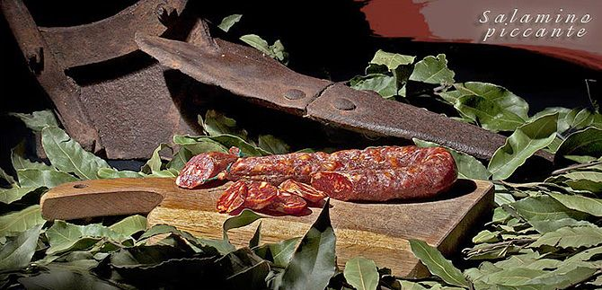 Oryginalny włoskie łagodne salami do którego produkcji wykorzystuje się wybrane mięso najlepszych włoskich tusz wieprzowych. Idealne jako dodatek do kanapek, grzanek oraz pizzy.