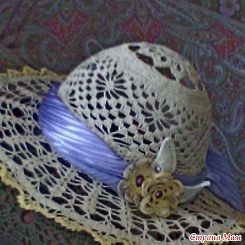 Шляпы вязанные крючком летние 129