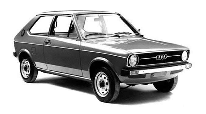 1974 Audi 50.