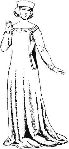 Historie odívání - 14.století, část 1.