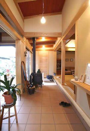 土間のある家|作品集|紀州材を使った木の家、木造住宅、