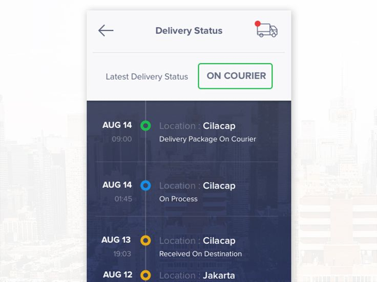 Delivery Tracking App by Bagus Fikri