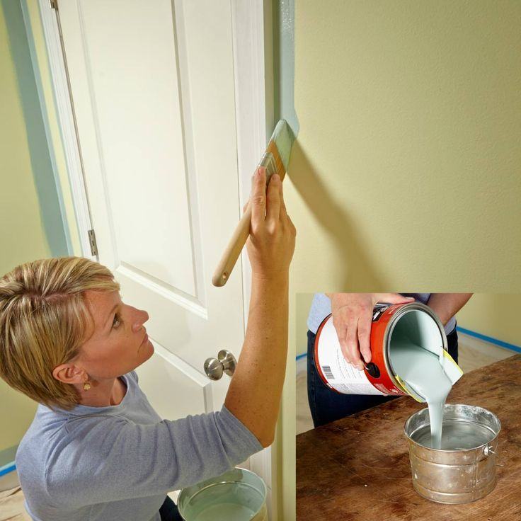 How To Prepare Wood Trim For A Smooth Wood Paint Job: 175 Best House Painting Images On Pinterest