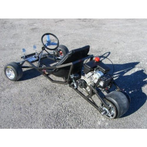 go karts   Scorpion Three Wheeled Go Kart Plans