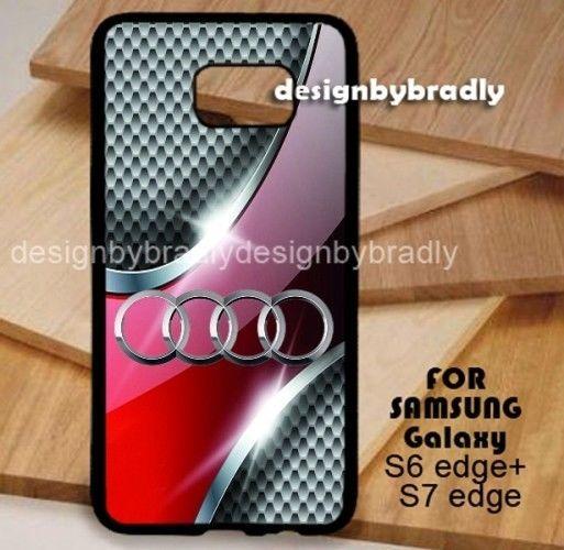 AUDI SILVER GRID Samsung Galaxy S3 S4 S5 S6 S7 S8 Edge Plus Case #UnbrandedGeneric
