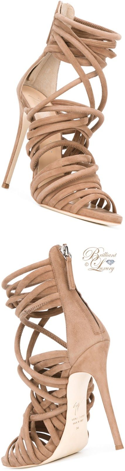 Brilliant Luxury by Emmy DE ♦ Giuseppe Zanotti Runway Sandals
