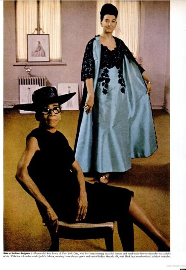 A Black Woman, Ann Lowe designed Jacqueline Kennedy's Wedding Gown. Lowe also designed for New York society families like the Rockefellers and the Vanderbilts; the gown that actress Olivia de Havilland wore when she accepted the Oscar for Best Actress in 1946. In the 1960's, Lowe opened Ann Lowe Originals inside the Saks Fifth Ave on Madison Avenue in NYC. Her amazing work still lives on in the permanent archives at The Metropolitan Museum of Art, the Black Fashion Museum and The…