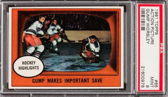 gump worsley hockey cards   topps hockey card gump worsley hockey card hockey highlights hockey ...
